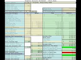 real estate spreadsheet free download