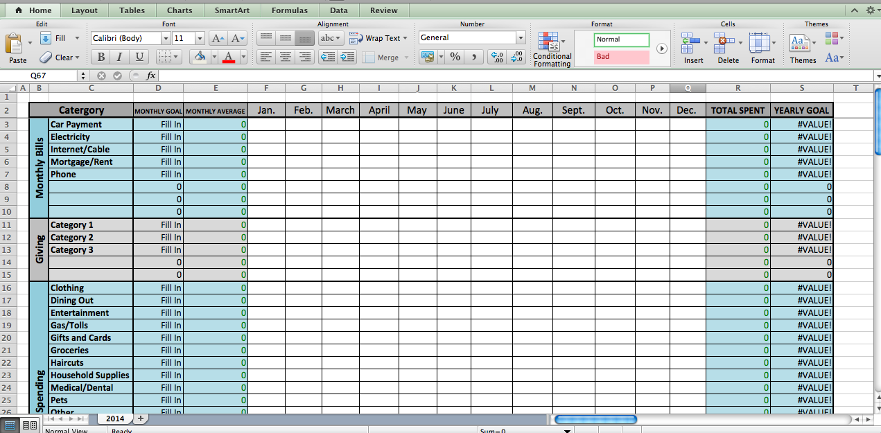 Home Renovation Budget Template Excel Free on Home Improvement Worksheet