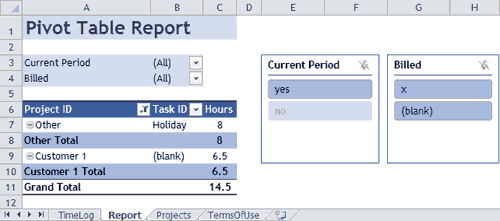 report time in lieu tracker excel download