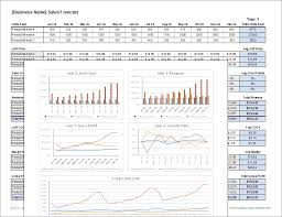 sales forecast excel download