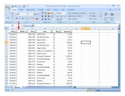 sample data for excel training download