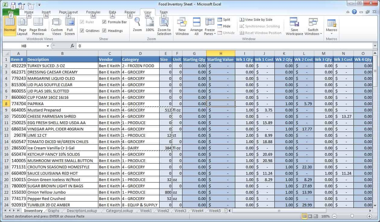 sample excel budget template swith student data