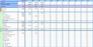 self employed expenses spreadsheet template download