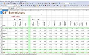 self employment tax spreadsheet download