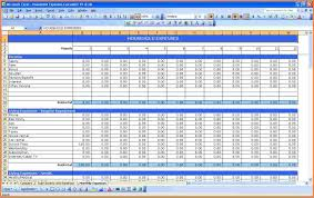 simple monthly budget template download