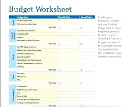 simple weekly budget template download
