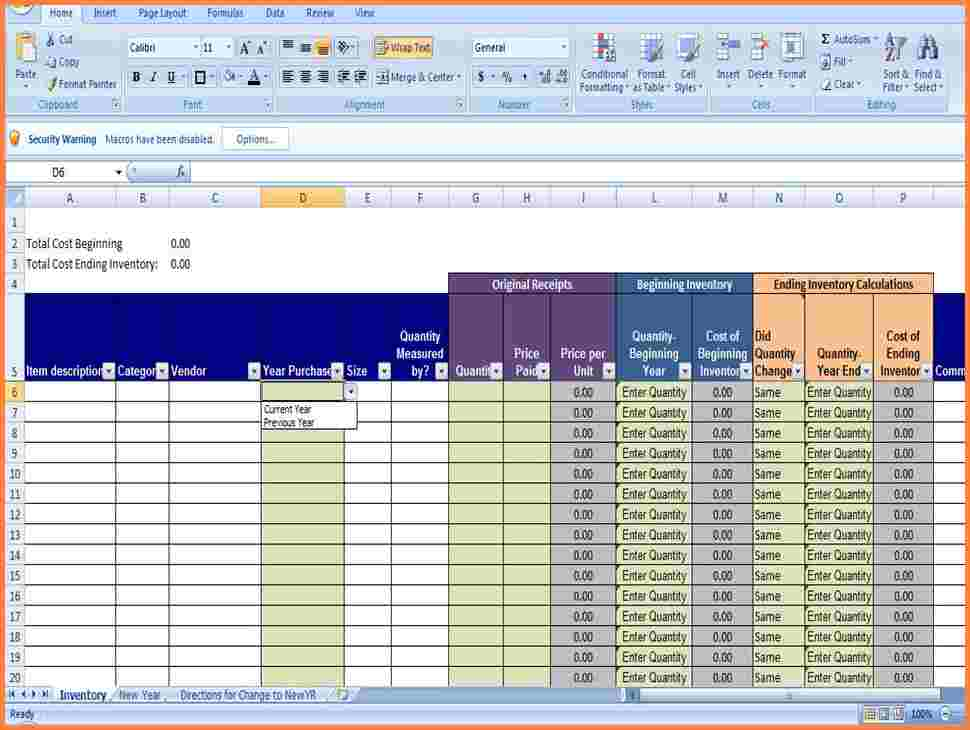 small business inventory excel spreadsheet templates for tracking