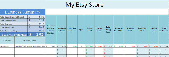 store inventory software excel
