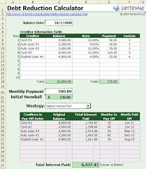 student loan repayment spreadsheet template download