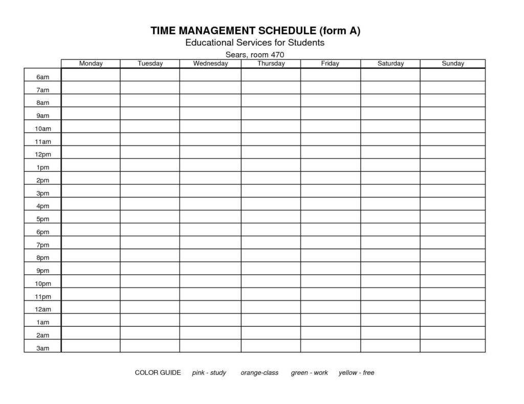 weekly report template management project templates