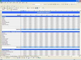 business income expense spreadsheet download