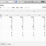 google spreadsheet project management template
