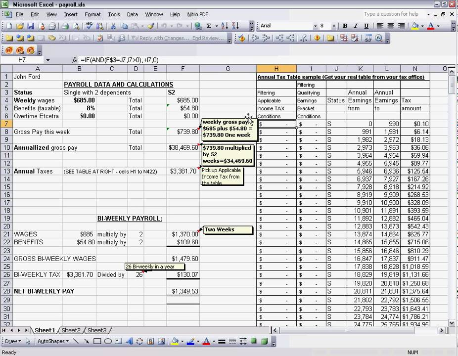 payroll excel spreadsheet