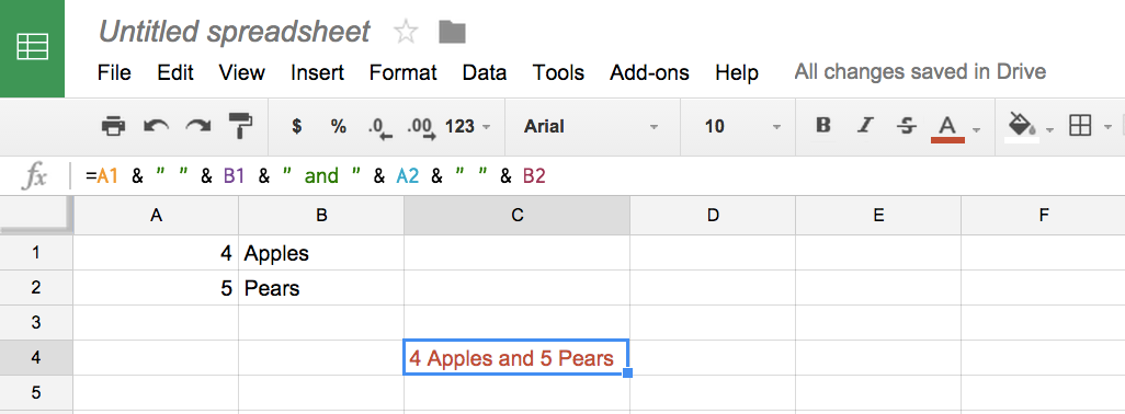google sheets if cell is not empty