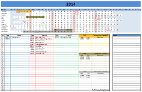 how to make a calendar in excel download