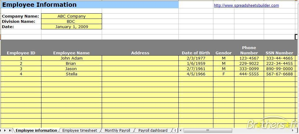 how to make a payroll system in microsoft excel with payslip