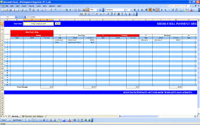 monthly bill spreadsheet template free download