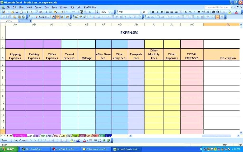monthly household budget template spreadsheet