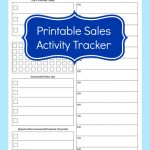 printable sales activity tracking spreadsheet