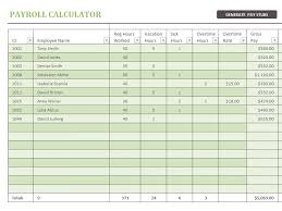 salary payroll xls excel sheet download