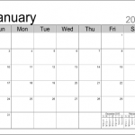 3 month editable calendar template