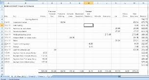 basic bookkeeping spreadsheet download