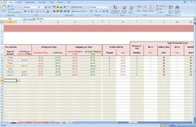 ebay profit calculator excel template download