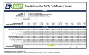 equipment life cycle cost analysis excel download