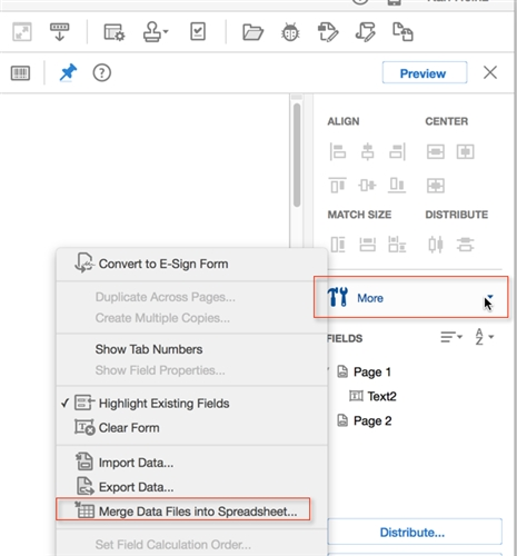 export data from pdf