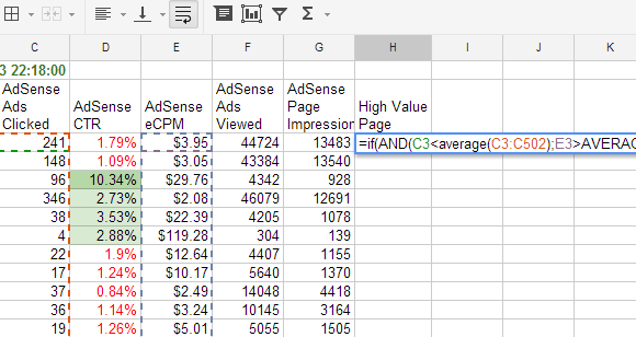 google sheets cell reference