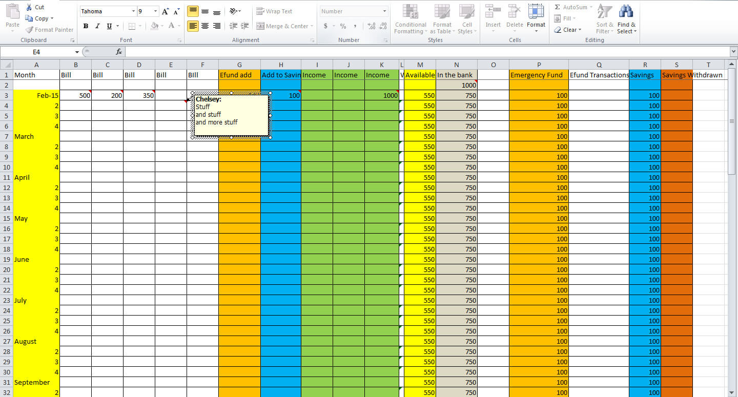 how to create a budget plan