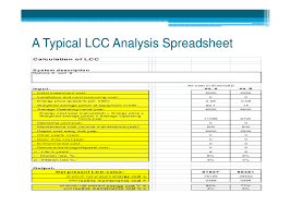 life cycle cost analysis calculator download