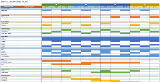 marketing calendar template excel download