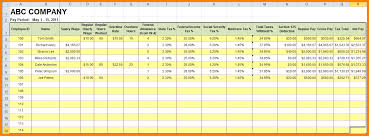 payroll hours template download