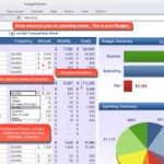 personal budget template google sheets download
