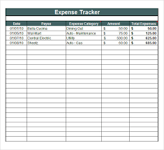 personal expense tracking spreadsheet download