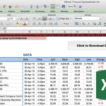quotation template excel finance spreadsheet