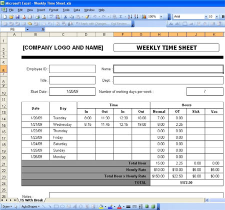 salary payroll xls excel sheet