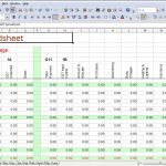 small business spreadsheet for income and expenses