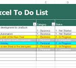 task list template excel spreadsheet download