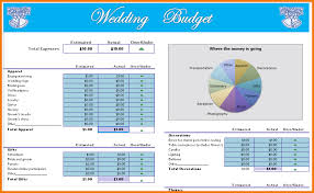 wedding planning spreadsheet download