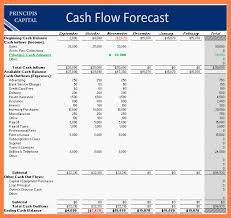 cash flow worksheet excel free download