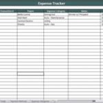 daily expense tracker sheet for small business