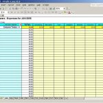daily small business expenses sheet in excel format free download