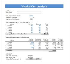excel spreadsheet cost analysis download