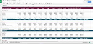 free monthly budget templates printable download