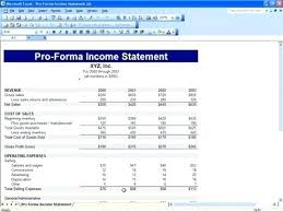 income statement template download