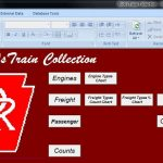 model railroad inventory software free