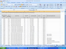 model train inventory spreadsheet download