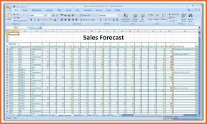 budget forecasting excel template download